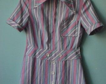 beutiful ORIGINAL VINTAGE babydoll dress from 1970s GDR (Germany)