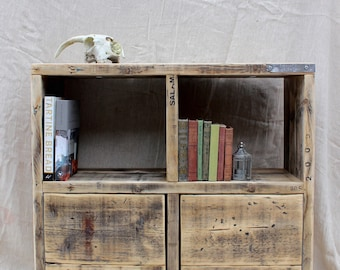 GAEL | Reclaimed Wood Storage Unit - Handmade & Bespoke