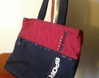 Polo sport messenger bag