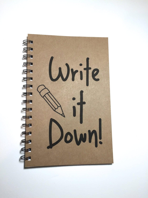 write it down journals