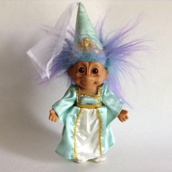 Russ Troll Doll Fairy Princess Vintage Troll Doll
