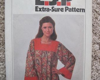 UNCUT Misses Caftan - Size 10 to 14 - Simplicity Pattern 8752 - Vintage 1978