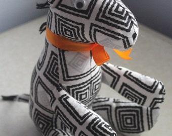 Ankara print stuffed animals