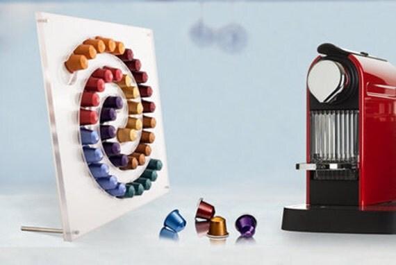 porte dosette de caf nespresso milky way par atelierdesignware. Black Bedroom Furniture Sets. Home Design Ideas