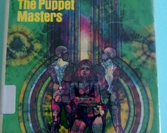 The Puppet Masters by Robert Heinlein Paperback Free Shipping
