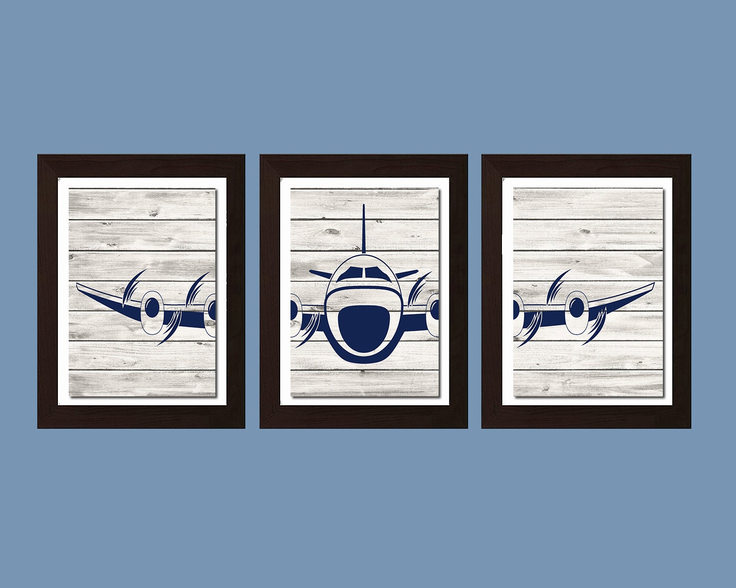Airplane decor airplane nursery decor living room art for Airplane decoration