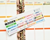 20 Mini Holiday Stickers! Perfect for your Erin Condren Life Planner, Plum Paper planner and other planner/agenda!