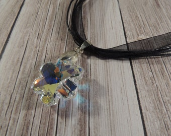 Swarovski crystal star pendant necklace