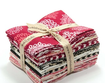 15 pc Fat Quarter Bundle- Lost and Found Love by My Mind's Eye for Riley Blake Designs