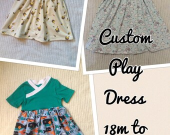 Custom made play dress
