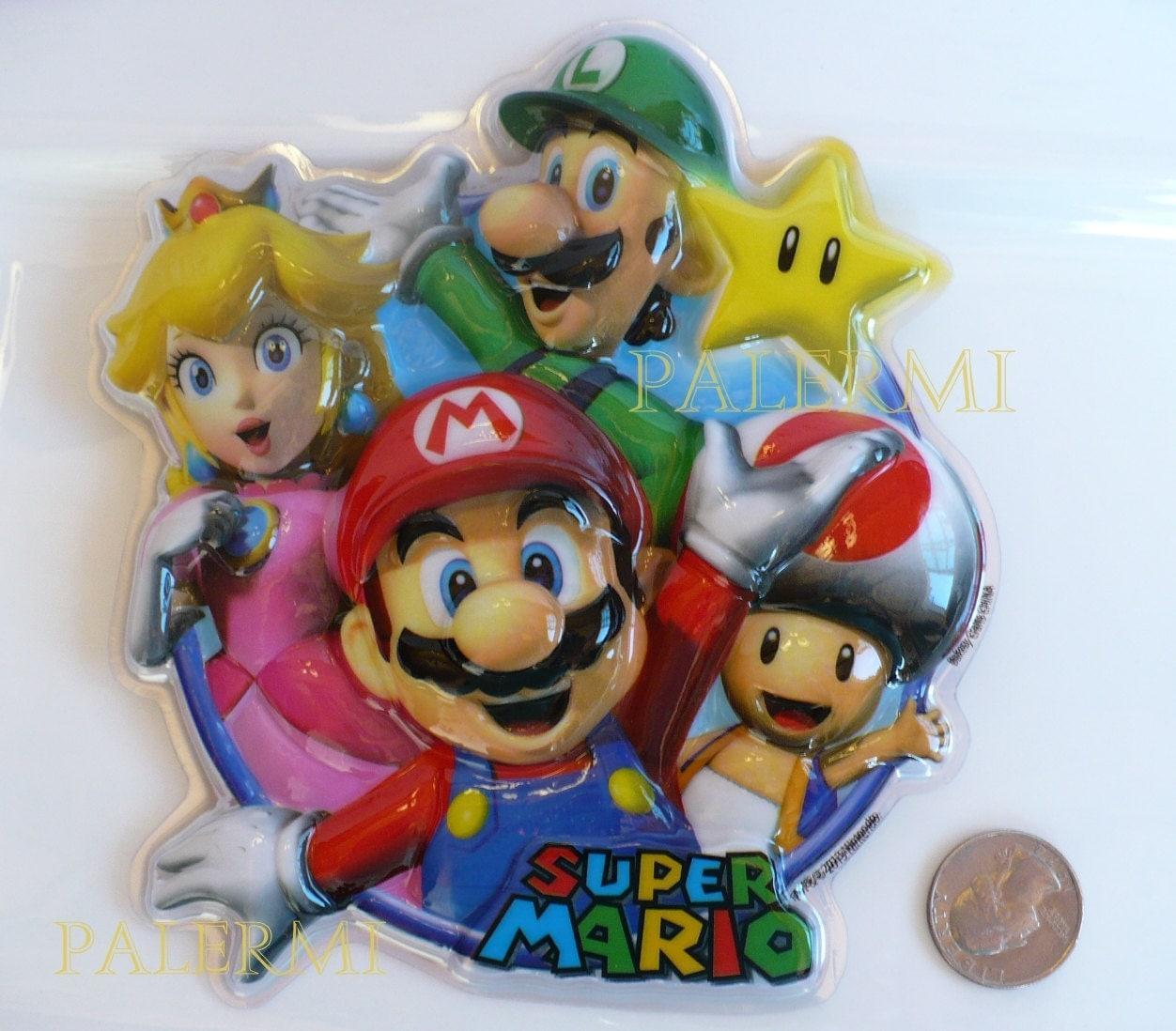 Super Mario Cake Topper Mario Bros Cake Topper Mario Luigi