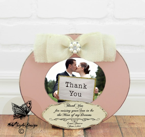 Parents Thank You Gift Parents Wedding Gift Parents of the Bride Gift ...