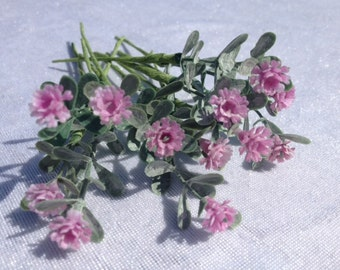 Pink Baby's Breath Mini Flowers Artificial Flowers Scrapbooking Flower Embellishments Craft Flowers