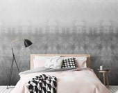 MIDNIGHT Temporary watercolor pattern Self-adhesive vinyl Wallpaper  - Peel and Stick wallpaper - CM055