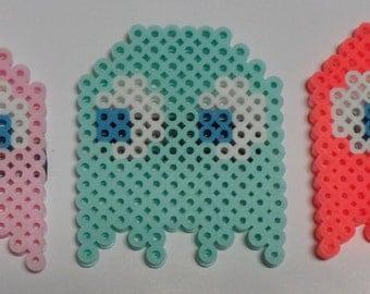 Pac-Man Perler Magnet Set