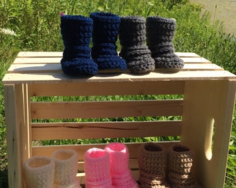 Hunter Booties- Infant/Toddler Strap Booties