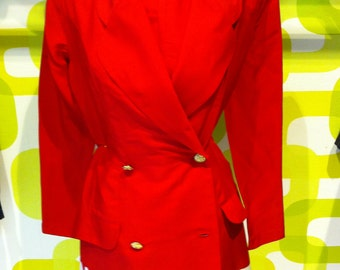 jacket , suit vintage 80s