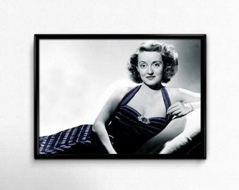 Bette Davis, Bette Davis Print, Bette Davis Prints, Bette Davis Printable, Bette Davis Wall Art, Bette Davis Art, Bette Davis Gifts, Bette
