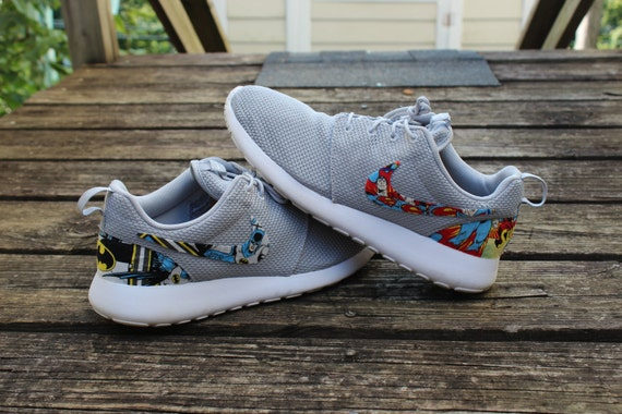 roshe run jordan customs superman