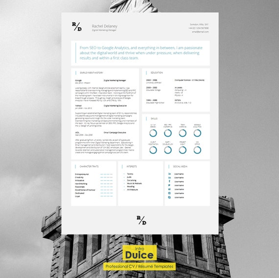 """CV Template 