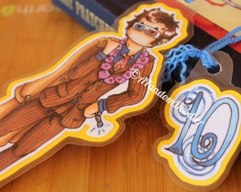 10th Doctor (Doctor Who) Bookmark