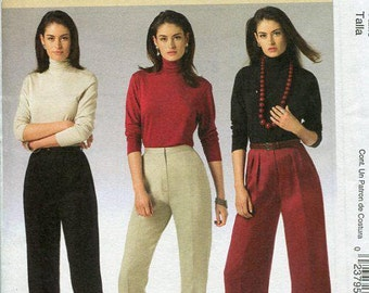 FREE US SHIP McCall's 5239 Palmer & Pletsch Perfect Fit Pants 2006 Perfect Fit Sewing Pattern Out of Print Size 8/14 10/16