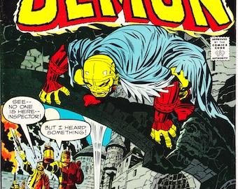 The Demon 2 comic book, Jack Kirby art, Etrigan, Jason Blood, Evil Monster, Horror, Bronze Age. 1972 DC Comics. Choice FNVF or VF+ (8.5)