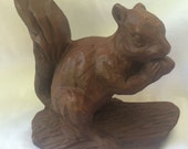 Squirrel Figurine // Red Mill Manufacturing
