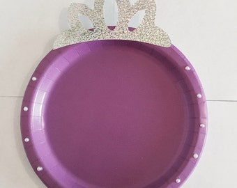 Custom Sofia the First Plates