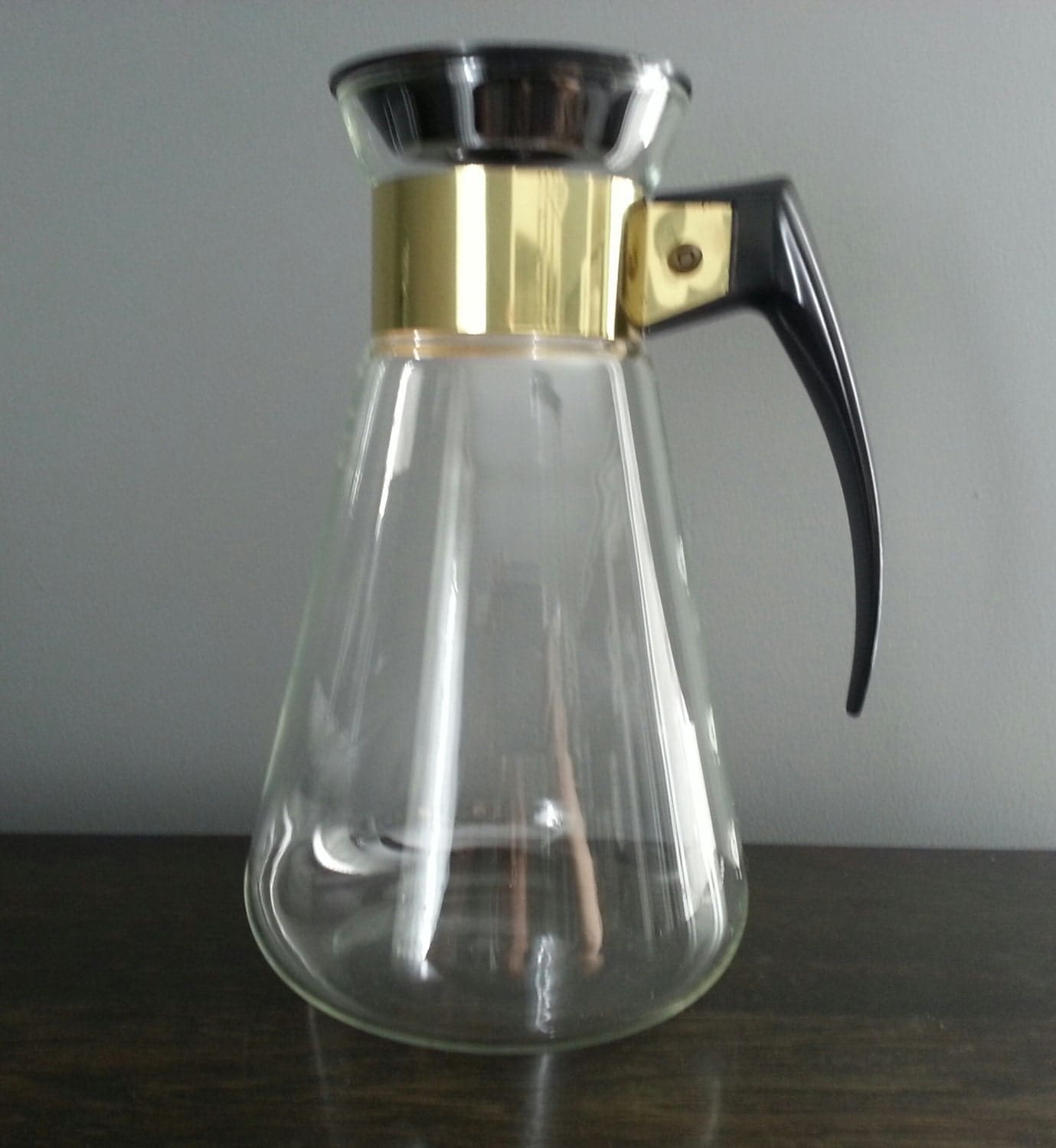 Vintage Pyrex Corning Coffee Carafe Retro Decanter