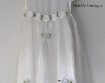 Princess dress, flower girl dress, wedding dress for toddlers and girls