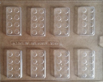 Block Chocolate Candy Mold