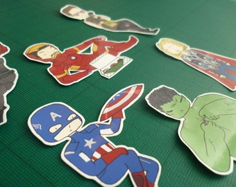 Avengers Assemble ∙ Marvel sticker set ∙ Character stickers