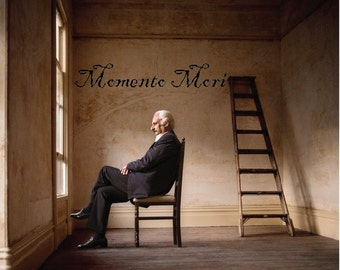 Memento Mori - Wall Decal - Custom Sizes Available - Oddities - Curiosities