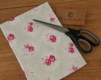 Vintage Floral Fabric Hardback Notebook A5