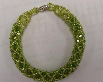 Swarovski Crystal Netted Bracelet