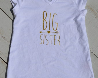 Big Sister Shirt/ Siblings/ Big Sister/ Little Sister