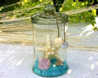 Maritime Deco Jar