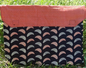 Laptop Sleeve: Black and Bright