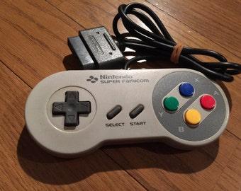 Super Famicon (SNES) controllers
