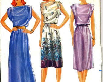 Butterick 3790 UNCUT FF Dress Size 10 Bust 32 1/2