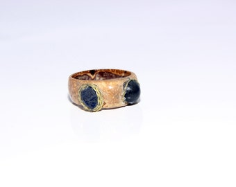 "Designer ring ""Blue Eyes"""