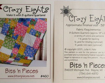 "Bits 'n Pieces ~ ""Crazy Eights""  #460"