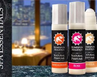 Homespun Holistics Natural Perfume - Vanilla