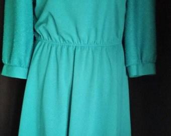 Beautiful Vintage Leslie Faye Dress