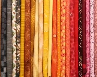 Rainbow Bundle #1 / 50 Fat Quarters