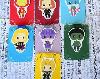 Avengers Magnetic Bookmarks