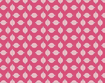 Riley Blake, Gracie Girl Collection, Dots in Pink, 1 yard C3535