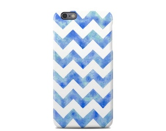 Blue Watercolor Pattern iPhone 6 Case - iPhone 6 Plus Case - iPhone 5 Case - iPhone 5S Case - iPhone 5C Case
