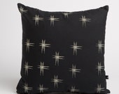Pillow in Kasuri Pattern